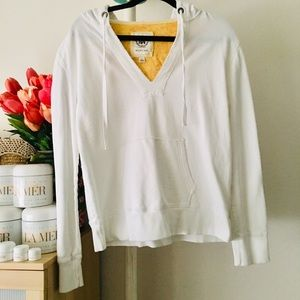 Merona Tops - 🍂🍁 MERONA White light sweater with hoodie 🍂🍁